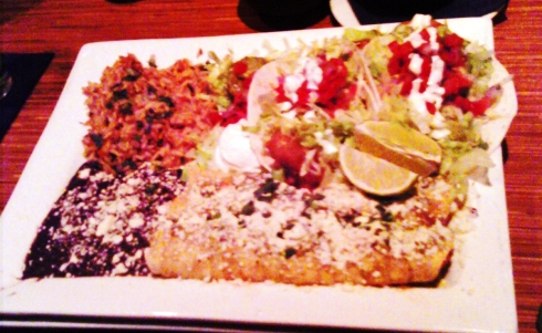 Laredo's Seafood Combo Platter