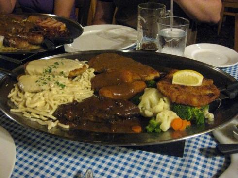 Gourmet Platter at Gasthof zur Gemulichkeit