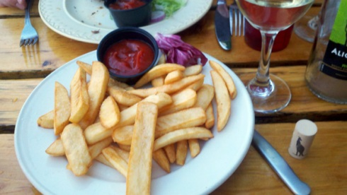 Amore Victoria, Minneapolis - happy hour french fries