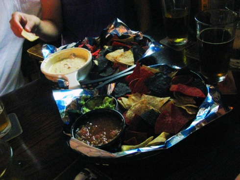 The chips and salsa, in Ryan's opinion, were average at best.
